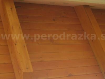 drevený podhľad